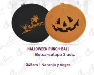 Paquete 2 punch balls halloween