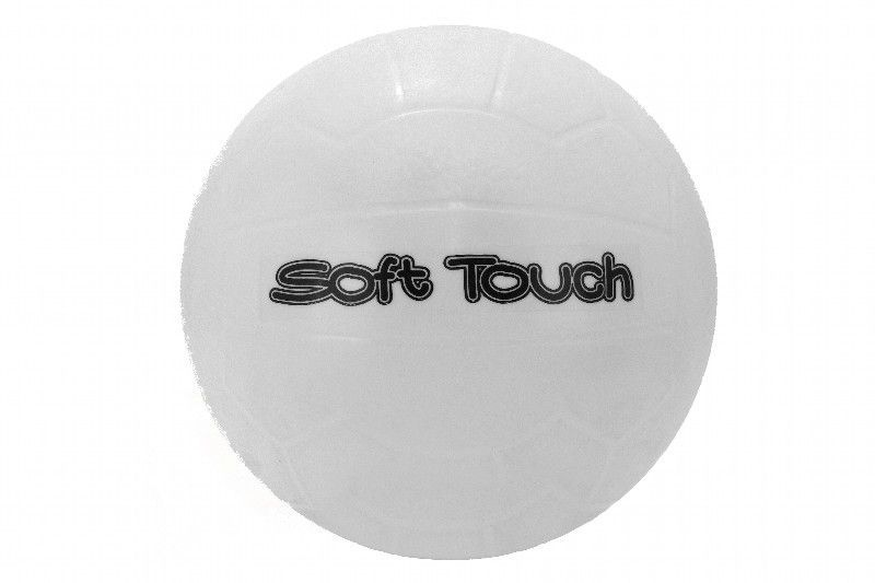 White heavy volley ball 220mm ø 150grs inflated