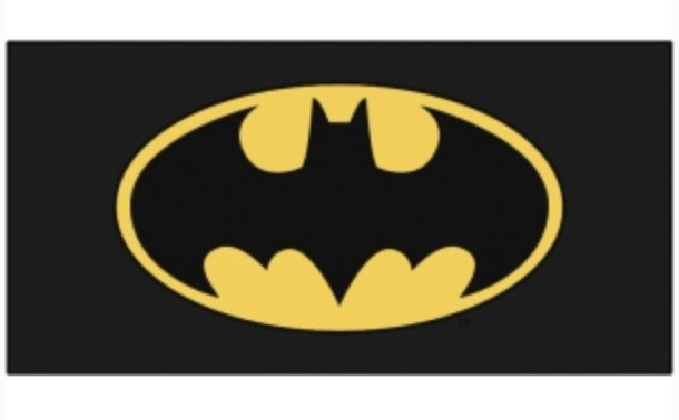 Toalla playa batman logo