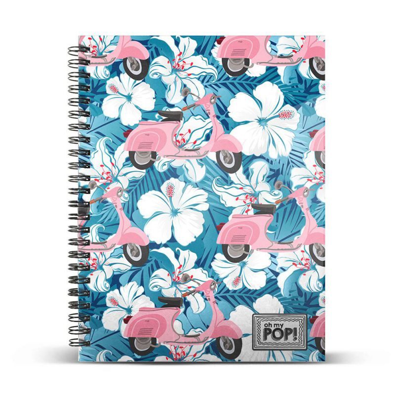 Ohmypop cuaderno c din a4 pink scoo