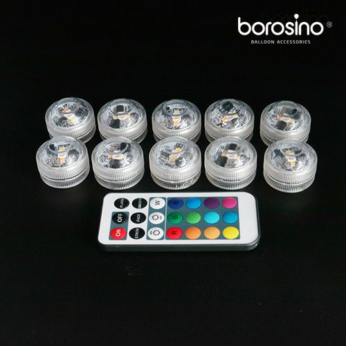 Acc. luz led con mando remoto (1 pack 10 luces)