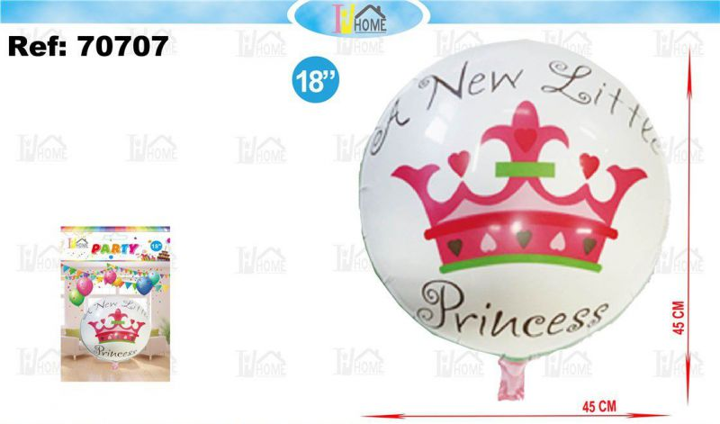 Globo poliamida a new little princess 18""