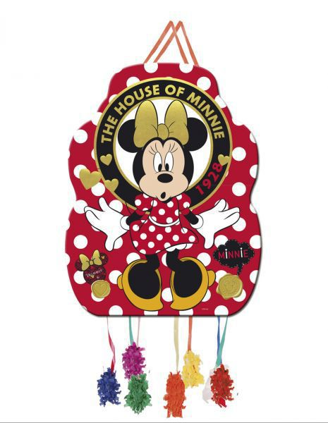 Piñata perfil minnie gold