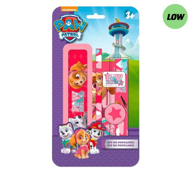 Blister plumier 6pzs. paw patrol chica