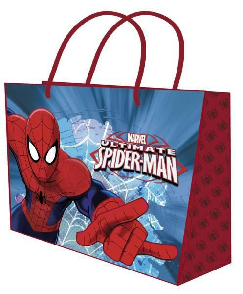 Bolsa papel xxxl. spiderman