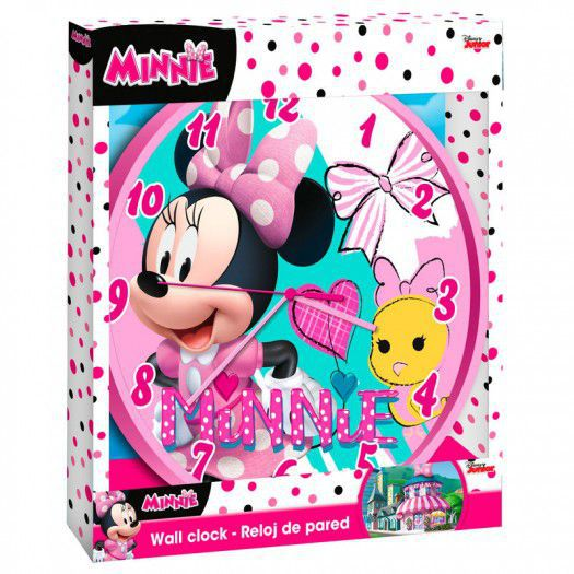 #reloj de pared minnie