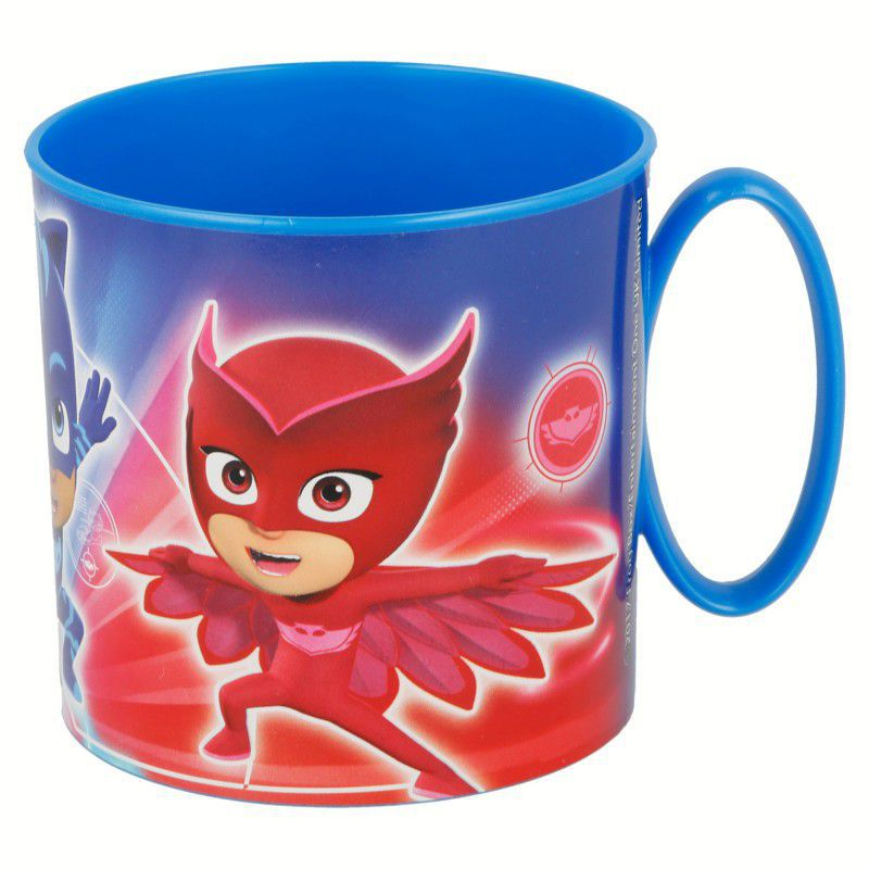 Stor taza micro 350 ml. pj masks