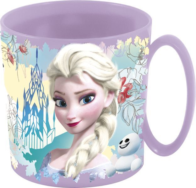 Stor taza micro 350 ml. frozen floral