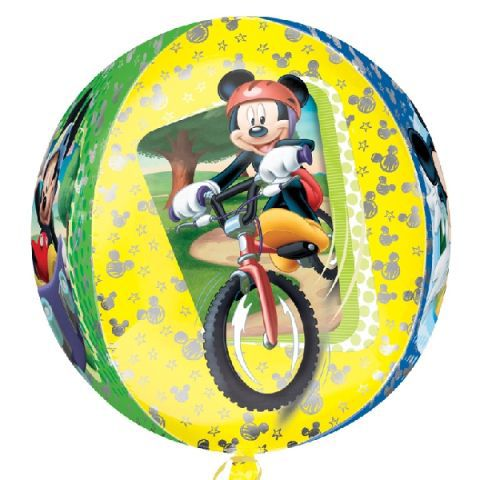 "**orbz: mickey mouse 15""/38cm x 16""/40cm (5)* ofer"