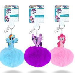 Llavero pompon display 12 my little pony