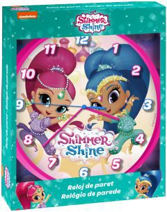 Reloj de pared shimmer and shine