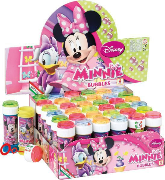 Tubo pompas de jabon 60ml. minnie