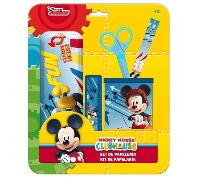 Set estuche y portalapices mickey