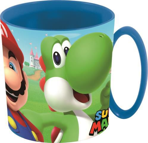 Stor taza micro 350 ml. super mario