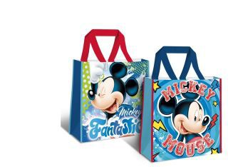 Shopping bag 38x38x12cm 2 diseños surt. mickey