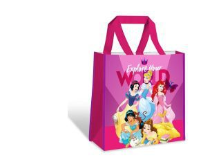 Shopping bag 38x38x12cm princesas