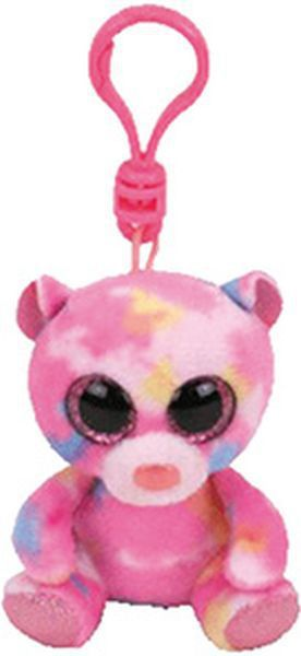 Franky - pink multicolor  bear