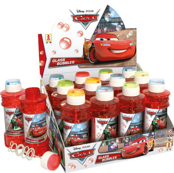 Tubo pompas jabon 300 ml. cars