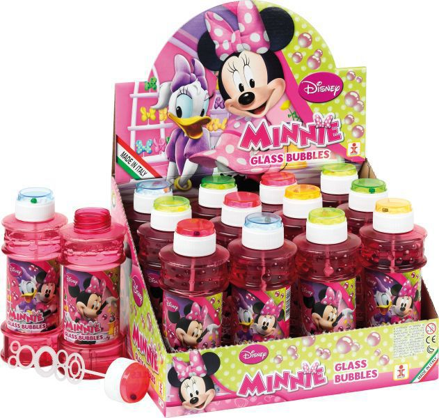 Tubo pompas jabon 300 ml. minnie mouse
