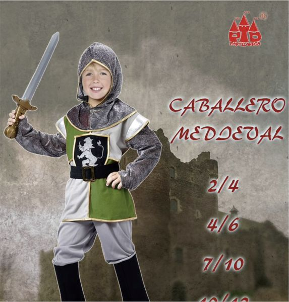 Caballero medieval inf.t.2-4