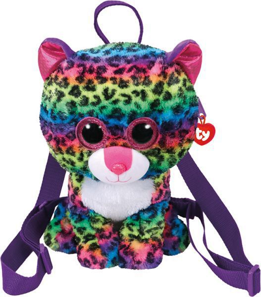 Mochila - dotty- multicolor leopard