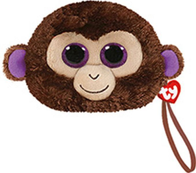 Monedero -coconut - brown monkey