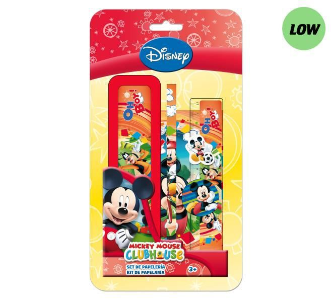 Blister plumier 6 pzs. mickey