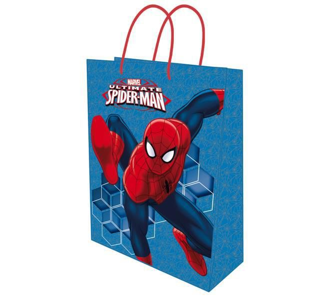 Bolsa papel xxxl 50,5x71x18 spiderman
