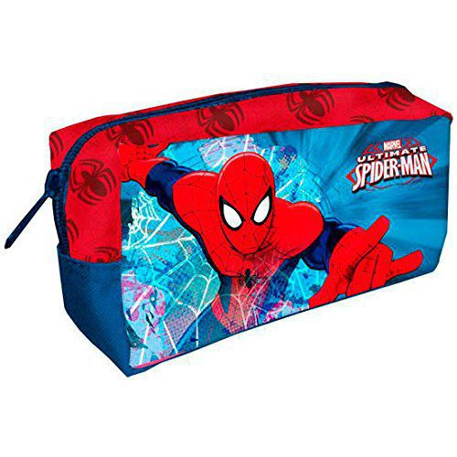 Portatodo rectangular 220x45x110mm spiderman